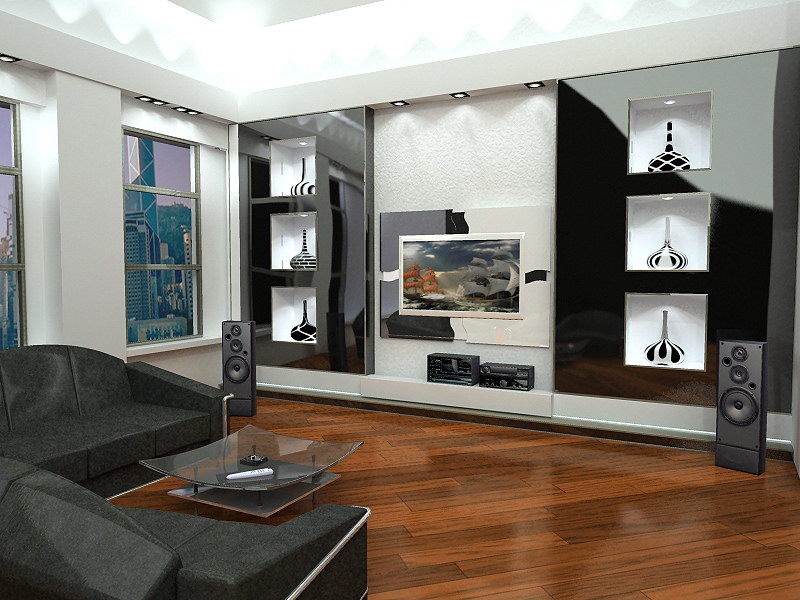 Модный ремонт комнат