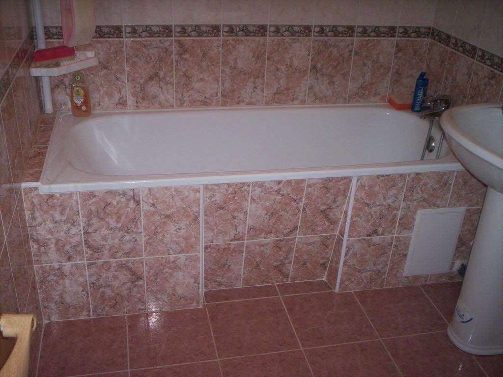 Ванная в доме своими руками